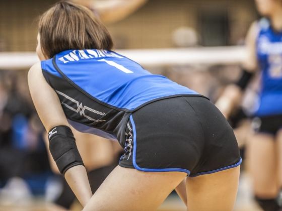 女子バレーボール選手のパンティライン&食い込み 画像24枚 3
