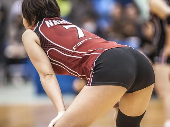 女子バレーボール選手のパンティライン&食い込み 画像24枚 4