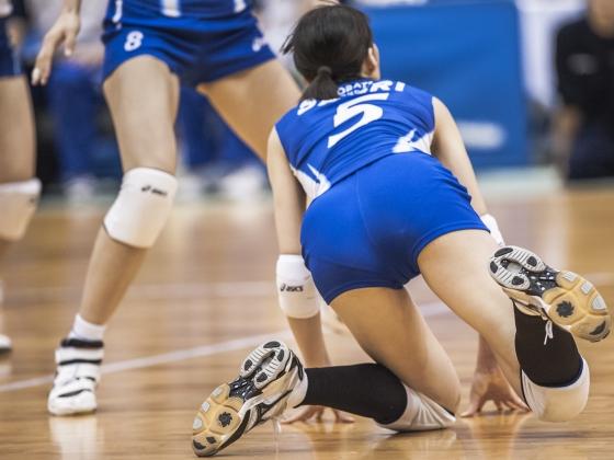 女子バレーボール選手のパンティライン&食い込み 画像24枚 8