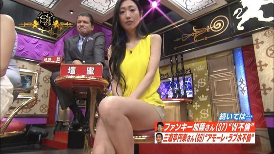 中村静香 サンジャポのFカップ谷間&太ももキャプ 画像25枚 20