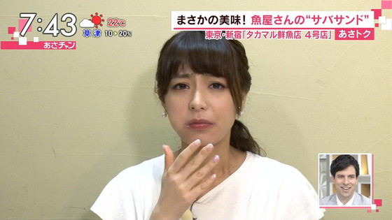 宇垣美里 可愛い食べっぷりのフェラ顔キャプ 画像30枚 6