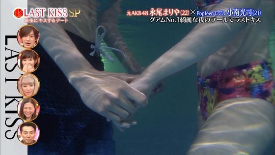 永尾まりや ラストキスの水着姿ベロチューキャプ 画像21枚 10