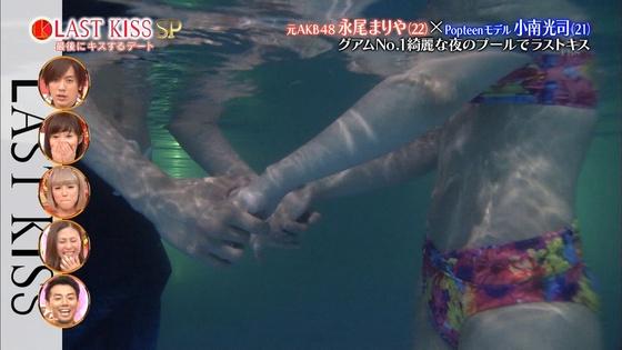 永尾まりや ラストキスの水着姿ベロチューキャプ 画像21枚 8
