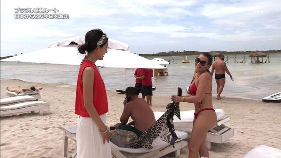 大杉亜依里 世界ふしぎ発見の水着姿inブラジルキャプ 画像18枚 4