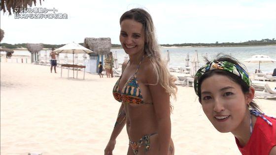 大杉亜依里 世界ふしぎ発見の水着姿inブラジルキャプ 画像18枚 8