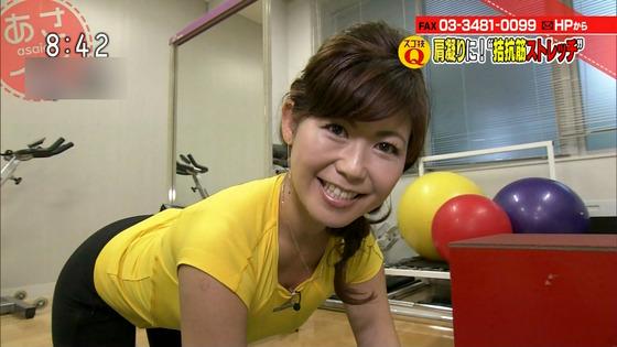 本橋恵美 NHKあさイチのDカップ着衣巨乳&胸チラキャプ 画像20枚 16