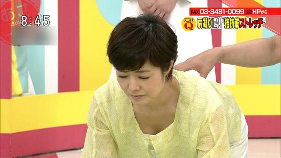 本橋恵美 NHKあさイチのDカップ着衣巨乳&胸チラキャプ 画像20枚 20