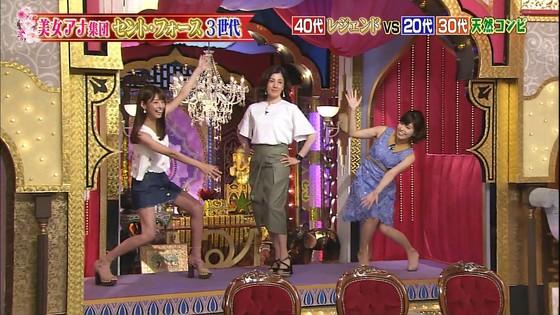岡副麻希 今夜くらべてみましたのミニスカ美脚と腋チラキャプ 画像28枚 3