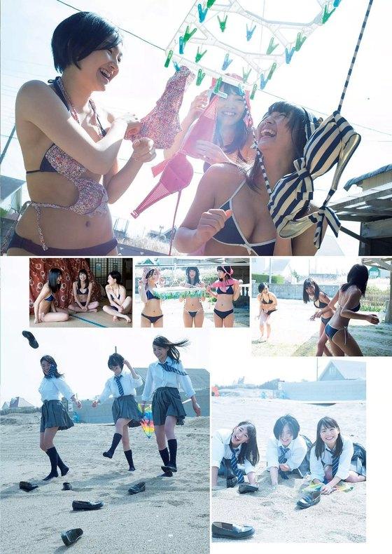 松永有紗 ヤングアニマルのBカップ水着グラビア 画像30枚 23