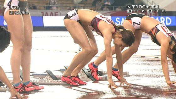 福島千里 腹筋と腋が素敵だった日本陸上選手権キャプ 画像47枚 10