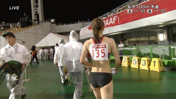 福島千里 腹筋と腋が素敵だった日本陸上選手権キャプ 画像47枚 16