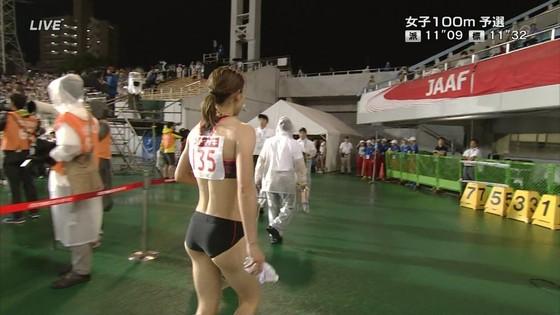 福島千里 腹筋と腋が素敵だった日本陸上選手権キャプ 画像47枚 19