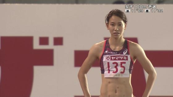 福島千里 腹筋と腋が素敵だった日本陸上選手権キャプ 画像47枚 1