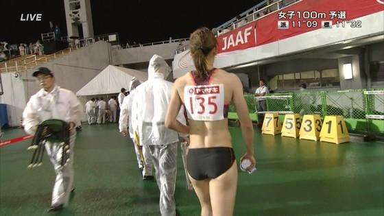 福島千里 腹筋と腋が素敵だった日本陸上選手権キャプ 画像47枚 20