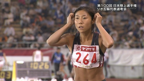 福島千里 腹筋と腋が素敵だった日本陸上選手権キャプ 画像47枚 23