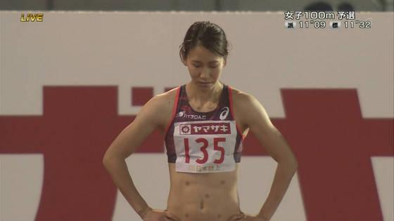 福島千里 腹筋と腋が素敵だった日本陸上選手権キャプ 画像47枚 2