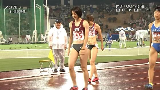 福島千里 腹筋と腋が素敵だった日本陸上選手権キャプ 画像47枚 3