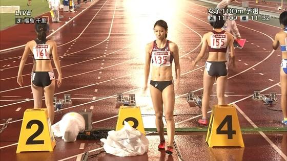 福島千里 腹筋と腋が素敵だった日本陸上選手権キャプ 画像47枚 5