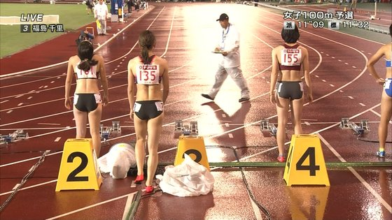 福島千里 腹筋と腋が素敵だった日本陸上選手権キャプ 画像47枚 7