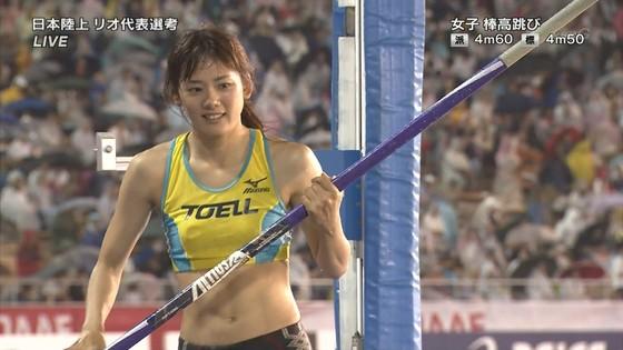 女子陸上選手の腹筋と腋が素敵な日本陸上選手権2016キャプ 画像31枚 1