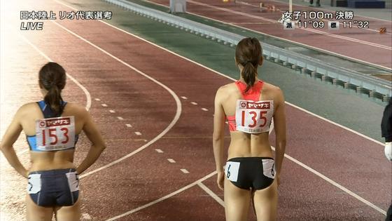女子陸上選手の腹筋と腋が素敵な日本陸上選手権2016キャプ 画像31枚 29