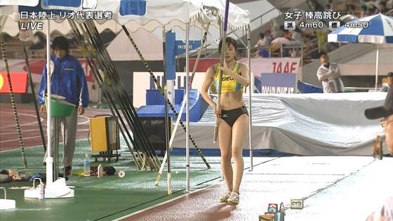 女子陸上選手の腹筋と腋が素敵な日本陸上選手権2016キャプ 画像31枚 2
