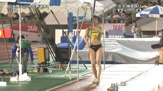 女子陸上選手の腹筋と腋が素敵な日本陸上選手権2016キャプ 画像31枚 3