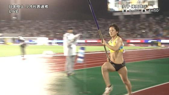 女子陸上選手の腹筋と腋が素敵な日本陸上選手権2016キャプ 画像31枚 4