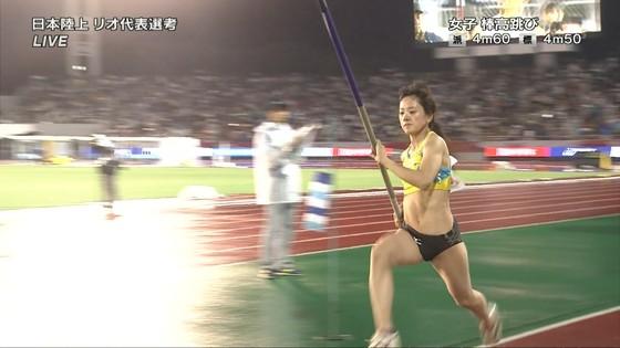 女子陸上選手の腹筋と腋が素敵な日本陸上選手権2016キャプ 画像31枚 5