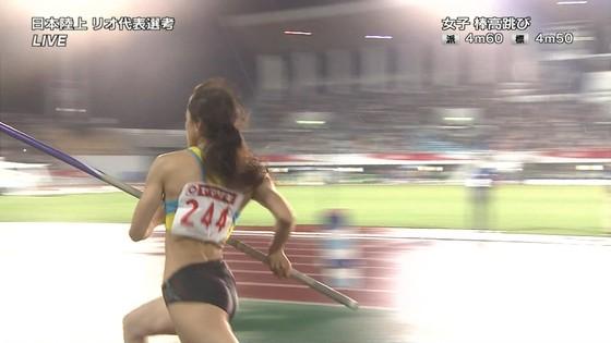 女子陸上選手の腹筋と腋が素敵な日本陸上選手権2016キャプ 画像31枚 6