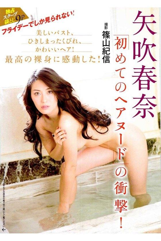 矢吹春奈 映画日本で一番悪い奴らの刺青ヌードグラビア 画像26枚 5