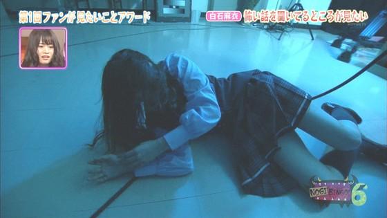 橋本奈々未 妖精姿の腋チラと爪切り股間キャプ 画像30枚 29
