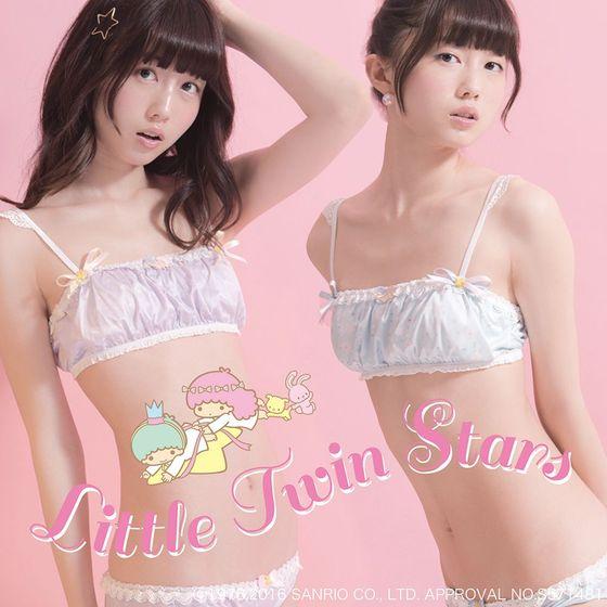 増澤璃凜子 サンリオ下着モデルで披露した貧乳幼児体型 画像12枚 1