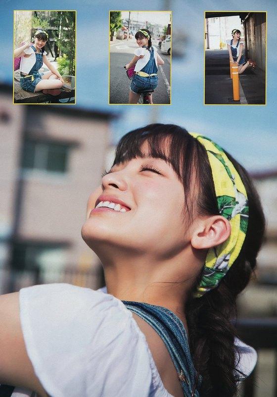 橋本環奈 Dカップ谷間と膨らみが眩しいヤンマガ最新グラビア 画像27枚 2