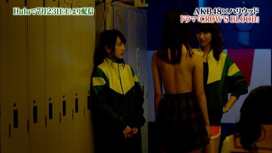 宮脇咲良 後姿セミヌードを披露したドラマ予告キャプ 画像11枚 7