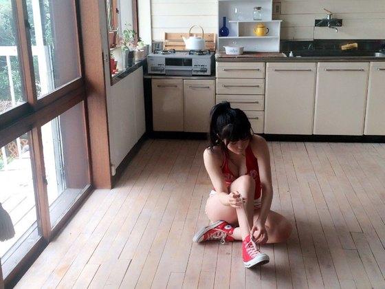 田中優香 ヤングアニマルの水着Gカップ谷間グラビア 画像20枚 20