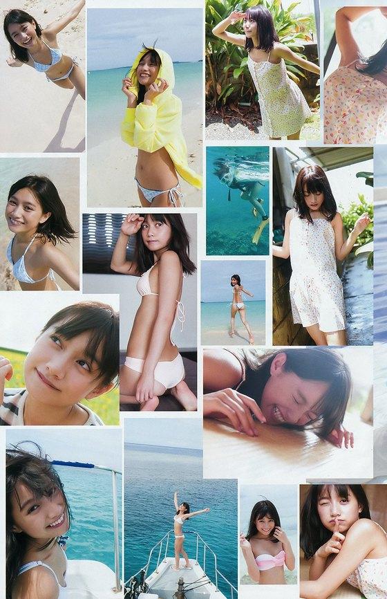 武田あやな ヤンジャンのBカップ水着姿最新グラビア 画像24枚 12