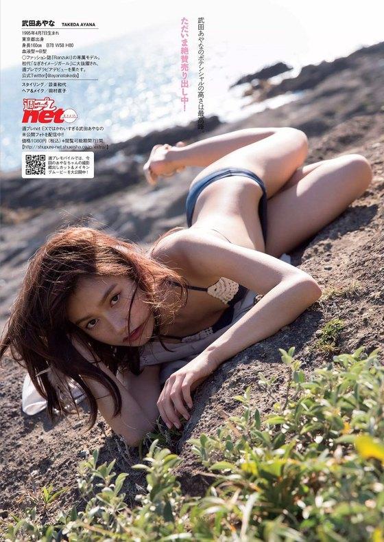 武田あやな ヤンジャンのBカップ水着姿最新グラビア 画像24枚 20