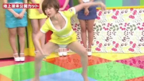 夏目花実 妄想マンデーの水着Bカップ谷間キャプ 画像22枚 14