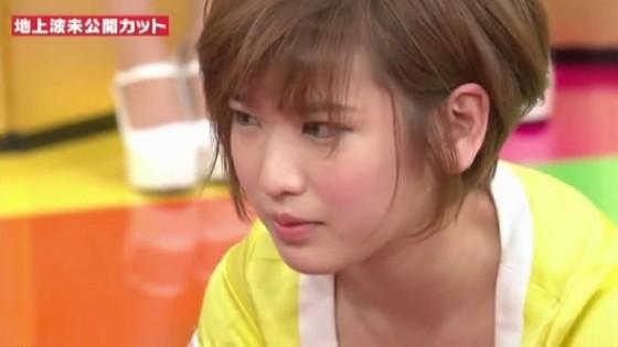 夏目花実 妄想マンデーの水着Bカップ谷間キャプ 画像22枚 5