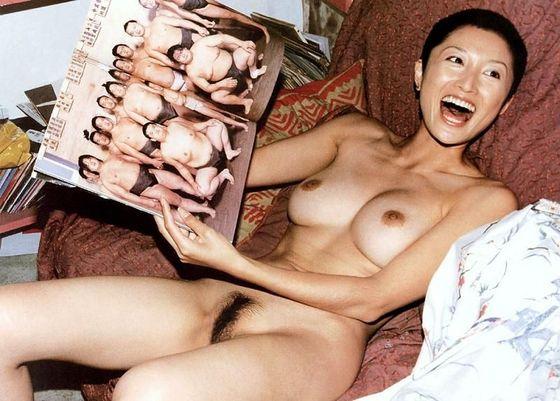 芸能人がおっぱいと陰毛を披露したヘアヌード 画像21枚 39