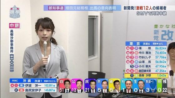 宇垣美里 選挙特番のヨガポーズ&お澄まし顔キャプ 画像27枚 10