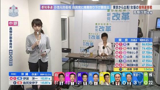 宇垣美里 選挙特番のヨガポーズ&お澄まし顔キャプ 画像27枚 12