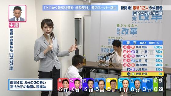 宇垣美里 選挙特番のヨガポーズ&お澄まし顔キャプ 画像27枚 13