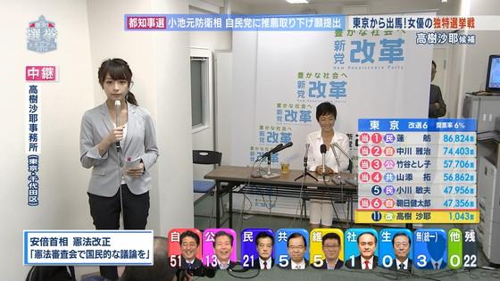 宇垣美里 選挙特番のヨガポーズ&お澄まし顔キャプ 画像27枚 16
