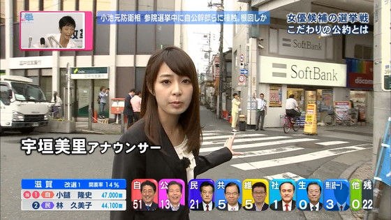 宇垣美里 選挙特番のヨガポーズ&お澄まし顔キャプ 画像27枚 19