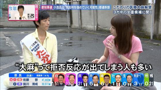 宇垣美里 選挙特番のヨガポーズ&お澄まし顔キャプ 画像27枚 26