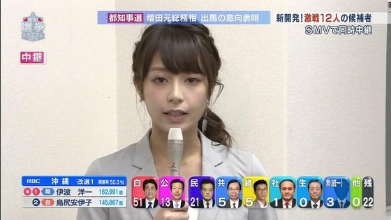 宇垣美里 選挙特番のヨガポーズ&お澄まし顔キャプ 画像27枚 8