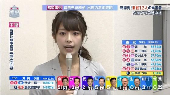 宇垣美里 選挙特番のヨガポーズ&お澄まし顔キャプ 画像27枚 9