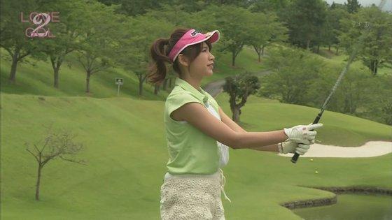 久松郁実 ラブゴル2のキュートなゴルフウェア姿キャプ 画像25枚 11
